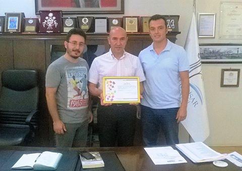 Seferihisar Belediye Başkanı Tunç Soyer'e Teşekkür Ettik